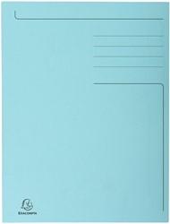 Dossiermap Exacompta Forever 280gr 3kleppen blauw