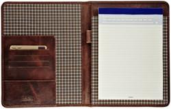 Schrijfmap Maverick Dalian mark II A5 leer bruin