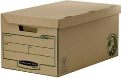 Archiefdoos Bankers Box Earth flip top bruin