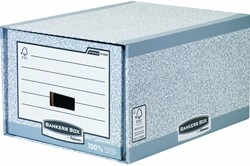 Archieflade Bankers Box A4 System A4 grijs