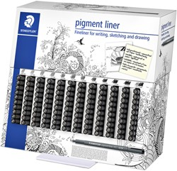 Fineliner Staedtler pigment 308 display à 120st ass