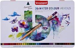 Kleurpotloden Bruynzeel aquarel Expression blik à 36 stuks assorti
