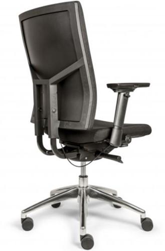 Bureaustoel Edition met Comfort Zitting en Rugleuning zwart - Oasis Zwart (9111)-2