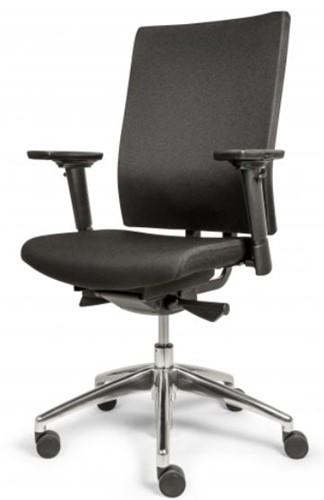 Bureaustoel Edition met Comfort Zitting en Rugleuning zwart - Oasis Zwart (9111)