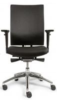 Bureaustoel Edition met Comfort Zitting en Rugleuning zwart - Oasis Zwart (9111)-3