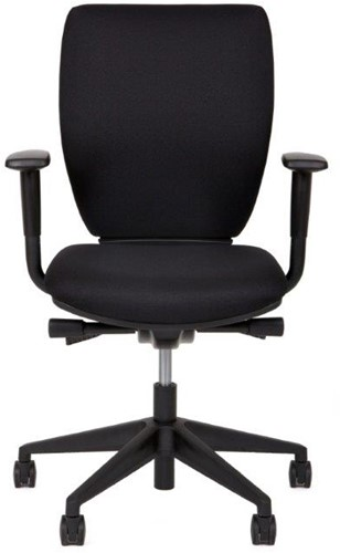 Bureaustoel serie 10 inclusief armleggers zwart