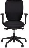Opstelling tafel serie 50 180X80cm inclusief aanbouwblad ladenblok en bureaustoel serie 10 -2