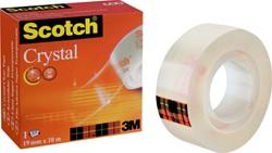 Plakband Scotch Crystal 600 19mmx10m