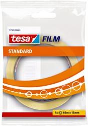 Plakband Tesa film standaard 15mmx66m