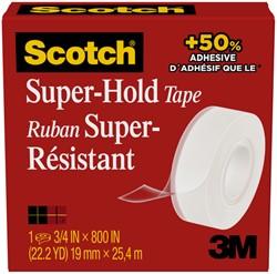 Plakband Scotch 700 Super Hold 19mmx25.4m transparant