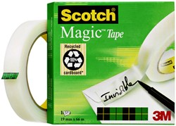 Plakband Scotch Magic 810 19mmx66m onzichtbaar mat