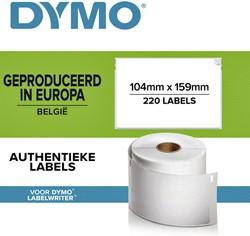Etiket Dymo 904980 labelprint 4XL 104x159mm 220st.