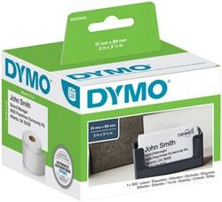 Etiket Dymo 92910 labelwriter 51x89mm naamkaart 300stuks