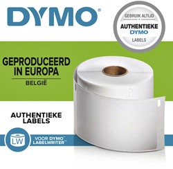 Etiket Dymo 11356 labelwriter 41x89mm badge 300stuks