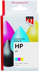 Inktcartridge Quantore HP C6625D 17 kleur