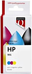 Inktcartridge Quantore HP CC656A 901 kleur