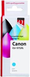 Inktcartridge Quantore Canon CLI-571XL blauw