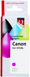 Inkcartridge Quantore Canon CLI-571XL rood