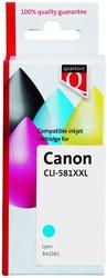 Inkcartridge Quantore Canon CLI-581XXL blauw