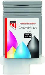 Inktcartridge Quantore Canon PFI-102 mat zwart