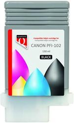 Inktcartridge Quantore Canon PFI-102 zwart