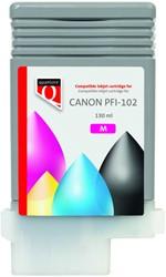 Inktcartridge Quantore Canon PFI-102 rood