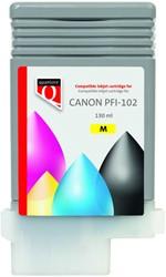 Inktcartridge Quantore Canon PFI-102 geel