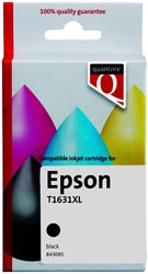 Inktcartridge Quantore Epson 16XL T1631 zwart