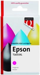 Inktcartridge Quantore Epson 16XL T1633 rood