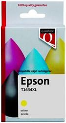 Inktcartridge Quantore Epson 16XL T1634 geel