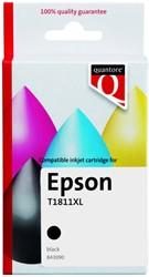 Inktcartridge Quantore Epson 18XL T1811 zwart