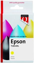 Inktcartridge Quantore Epson 18XL T1814 geel