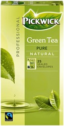 Thee Pickwick Fair Trade groen puur 25 zakjes van 1.5gr