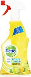 Allesreiniger Dettol Power & Fresh spray 500ml