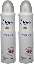 Deodorant Dove Invisible Dry 2x150ml