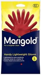 Huishoudhandschoen Marigold Handy rood large