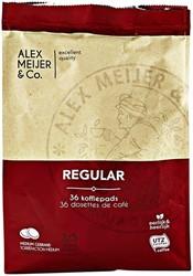 Koffiepads Alex Meijer regular 36 stuks