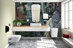 Afvalbak Katrin 91912 50liter wit