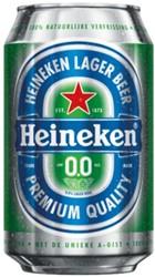 Bier Heineken 0.0 blikje 0.33l