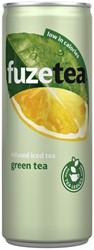 Frisdrank FuzeTea Green blikje 0.25l