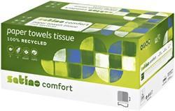 Handdoek Satino Comfort C-vouw 25x33cm 2-laags 3072st