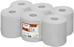 Poetsrol Satino Comfort 1-laags 20cmx300m wit 6rollen