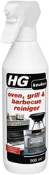 Keukenreiniger HG Oven-Grill-BBQ spray 500ml