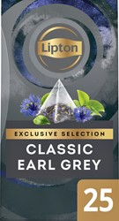 Thee Lipton Exclusive Earl Grey 25 piramidezakjes
