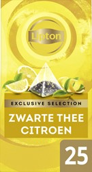 Thee Lipton Exclusive Citroen 25 piramidezakjes