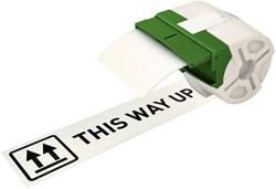 Etiket Leitz icon labelprint papier 88mmx22m wit