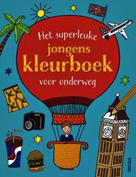 Kleurboek Deltas Superleuk voor onderweg jongens