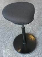 Zit Sta kruk Amazone STIT met ergotop zwart met zwart frame-3