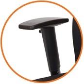 Armleggers hoogte instelbaar voor bureaustoel ONE by SPINDL