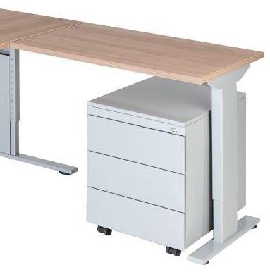 Aanbouwtafel serie 50 80X60cm hoogte instelbaar 62-86cm